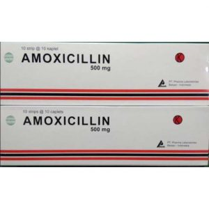 Amoxicillin 500 mg (Generik - Pharmalab)