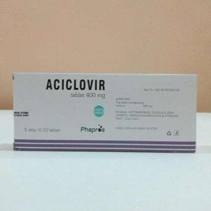 Aciclovir 400 mg 10 Tablet (Generik - Phapros)