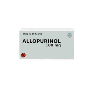 Allopurinol 100 (Generik - Rama Emeral Multi Sukses)