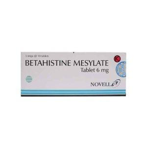 Betahistine Mesylate 6 mg 10 Tablet (Generik - Novell)