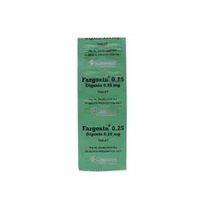 Fargoxin 0,25 mg 10 Tablet