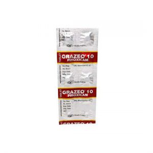 GRAZEO 10 mg 10 Tablet