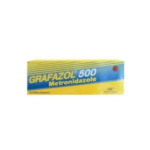Grafazol 500 mg 10 Kaplet