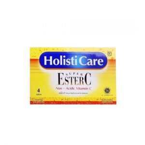 Holisticare Ester C isi 4 Tablet