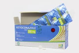 Ketoconazole 200 mg 10 Tablet (Generik - Hexapham Jaya)