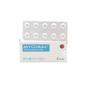 MYCORAL 200 mg (Harga 1 Tablet)