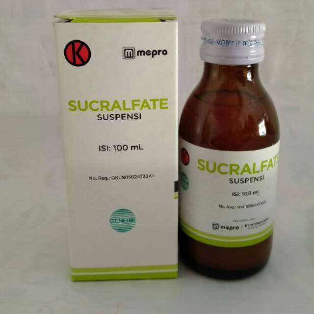 Sucralfate Suspensi 100 ml